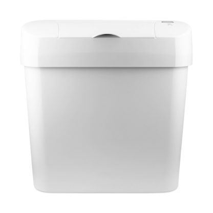 Automatic Sanitary Bin 15L white front 72006W CD-7002A