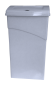 Sanitary Bin Comfortsan Light Grey 1