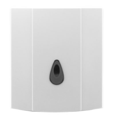luxe jumbo toilet roll dispenser front