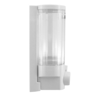 Luxe Dual Container Liquid soap dispenser LX-820061A side