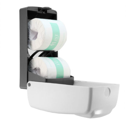 luxe dual toilet roll dispenser LX-880771A-R