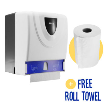 Manual Hand Towel Roll Dispenser 8118A angle bonus