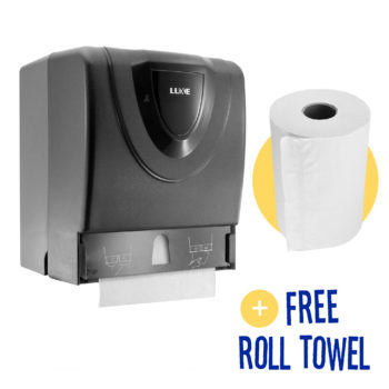Manual Hand Towel Roll Dispenser 8118-B angle bonus