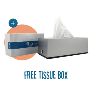 Small Facial Tissue Dispenser LX884971S bonus