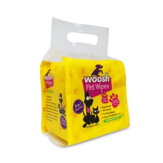 woosh pet wipes Value Pack 3 in 1