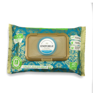 Flushable Wet Wipes Emporia 40 pack