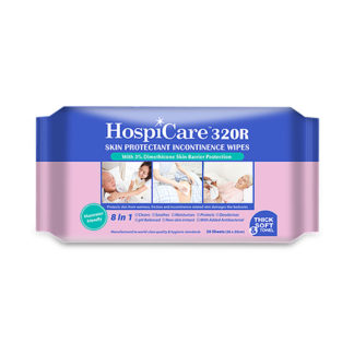 Hospicare 320r Skin Protectant Adult Wipes