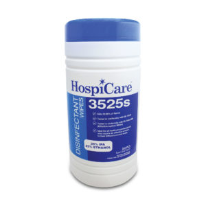 HospiCare 3525s Disinfectant Wipes 3525s