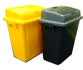 clinical waste bin yellow