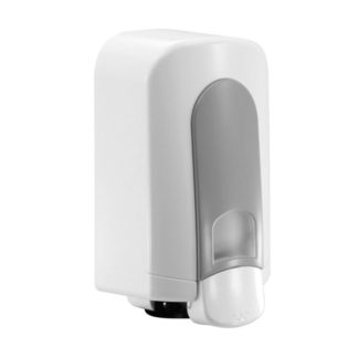 Spray Instant Hand Sanitiser Dispenser White/Grey, 500ML - SD145RWG angle