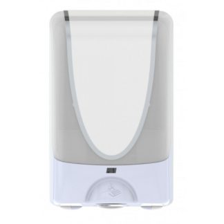 deb foam soap dispenser white chrome 1200ml TF2WHI