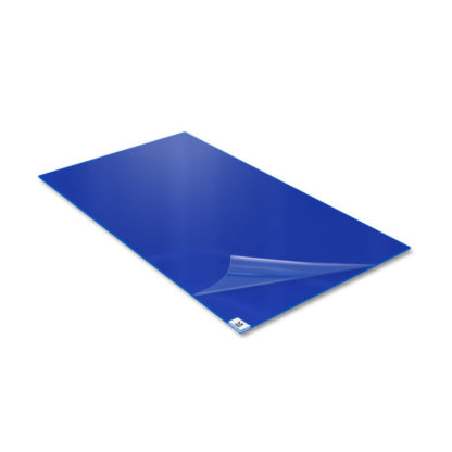 floor sticky mat blue 30 layers