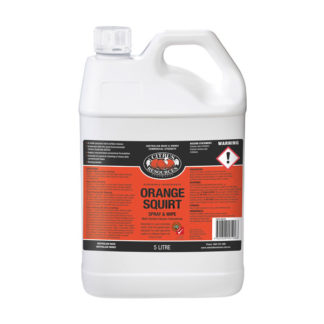 Orange Squirt Spray and wipe 5l