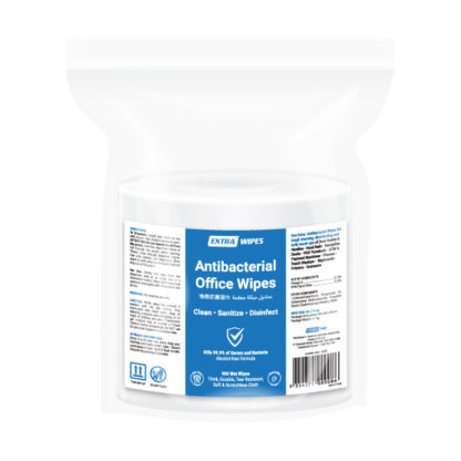 extra antibacterial office wipes 900 sheets pack