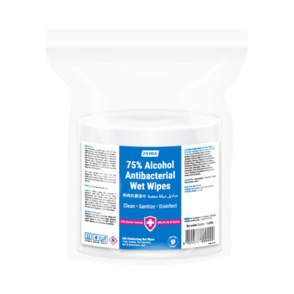 extra antibacterial 75 alcohol surface roll wipes 900 sheets pack
