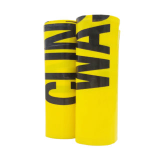 120 litre yellow clinical waste bags two rolls